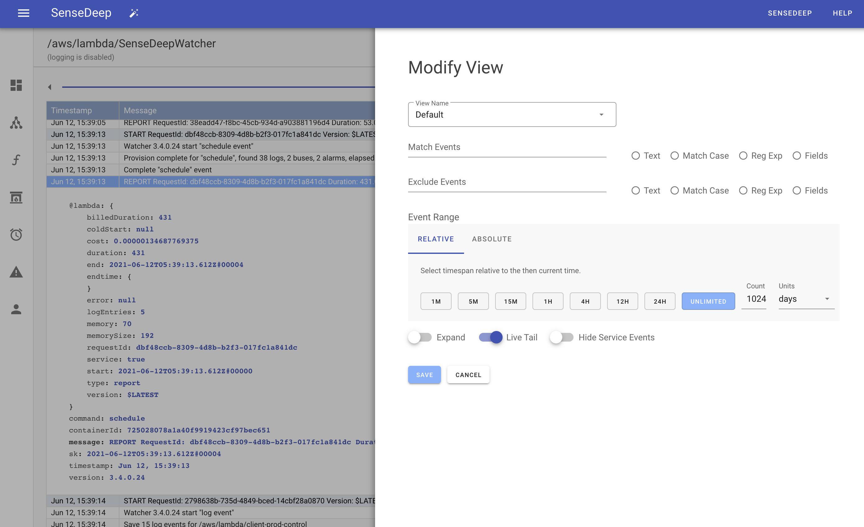 View Modify